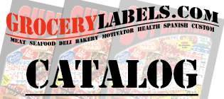 Click to View our Grocery Label Catalog